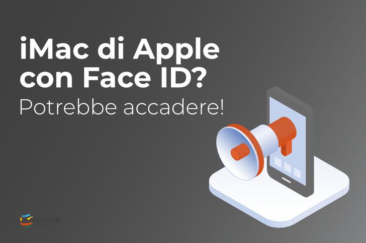 iMac sblocco con FaceID
