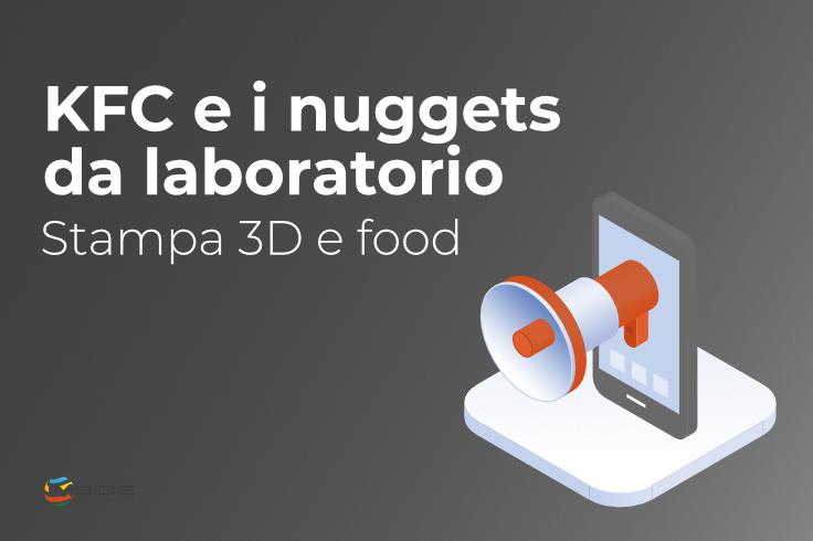 nuggets di pollo prodotti in laboratorio da KFC