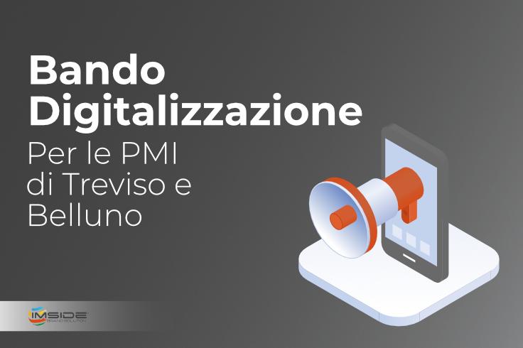 Bando digitalizzazione Treviso - Belluno